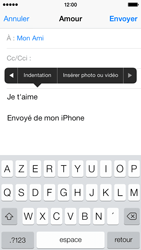 Apple iPhone 5c - E-mail - Envoi d