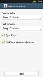 Samsung I9505 Galaxy S IV LTE - E-mail - Manual configuration IMAP without SMTP verification - Step 17