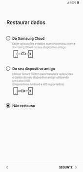 Samsung Galaxy Note 8 - Android Oreo - Primeiros passos - Como ligar o telemóvel pela primeira vez -  21