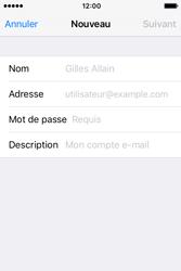 Apple iPhone 4 S iOS 9 - E-mail - Configuration manuelle - Étape 7