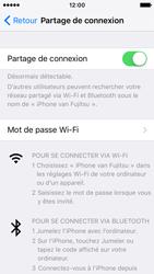 Apple iPhone SE - Internet et connexion - Partager votre connexion en Wi-Fi - Étape 9