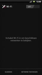 Sony Ericsson Xperia Neo met OS 4 ICS - WiFi - Handmatig instellen - Stap 6