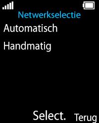 Nokia 108 - Netwerk - Gebruik in het buitenland - Stap 6