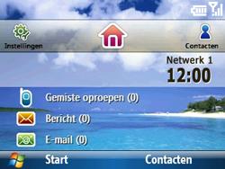 Samsung C6620 - Bellen - in het buitenland - Stap 12