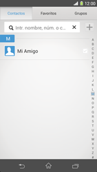 Sony Xperia Z1 - Mensajería - Escribir y enviar un mensaje multimedia - Paso 7