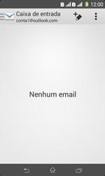 Sony D2105 Xperia E1 Dual - Email - Como configurar seu celular para receber e enviar e-mails - Etapa 4