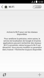 Huawei Ascend Y625 - Wi-Fi - Se connecter à un réseau Wi-Fi - Étape 4