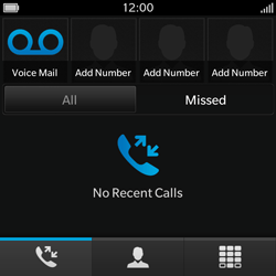 BlackBerry Q10 - Voicemail - Manual configuration - Step 4
