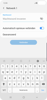 Samsung Galaxy S10 Plus - Wifi - handmatig instellen - Stap 7