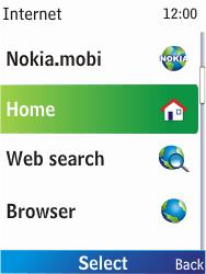 Nokia X2-00 - Internet - Internet browsing - Step 3
