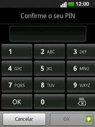 LG E400 - Segurança - Como ativar o código de bloqueio do ecrã -  9