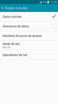 Samsung N910F Galaxy Note 4 - Red - Seleccionar el tipo de red - Paso 8