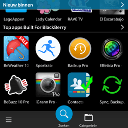 BlackBerry Classic - Applicaties - Downloaden - Stap 9