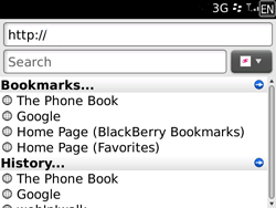 BlackBerry 9700 Bold - Internet - Internet browsing - Step 12