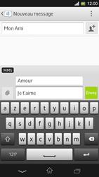 Sony Xpéria SP - Contact, Appels, SMS/MMS - Envoyer un MMS - Étape 13