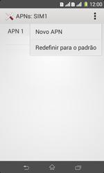 Sony D2105 Xperia E1 Dual - Internet (APN) - Como configurar a internet do seu aparelho (APN Nextel) - Etapa 10