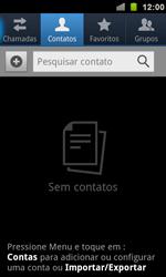 Samsung Galaxy S II - Contatos - Como criar ou editar um contato - Etapa 3