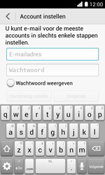 Huawei Ascend Y330 - E-mail - Account instellen (POP3 zonder SMTP-verificatie) - Stap 6