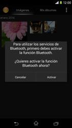 Sony Xperia M2 - Bluetooth - Transferir archivos a través de Bluetooth - Paso 10