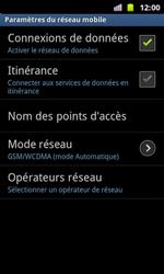 Samsung I8160 Galaxy Ace II - Réseau - utilisation à l'étranger - Étape 9