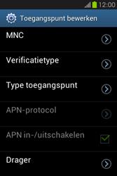Samsung S6810P Galaxy Fame - Mms - Handmatig instellen - Stap 14