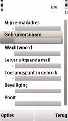 Nokia 5230 - E-mail - handmatig instellen - Stap 25