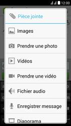 Huawei Y625 - MMS - envoi d'images - Étape 11