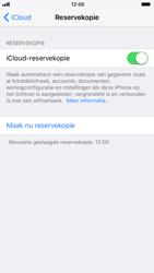 Apple iPhone 7 iOS 11 - iOS 11 - Automatische iCloud-reservekopie instellen - Stap 9