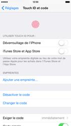 Apple iPhone 6 iOS 8 - Sécuriser votre mobile - Activer le code de verrouillage - Étape 7