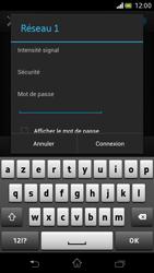 Sony LT30p Xperia T - Wifi - configuration manuelle - Étape 6