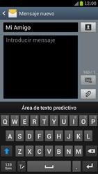 Samsung I9300 Galaxy S III - Mensajería - Escribir y enviar un mensaje multimedia - Paso 9