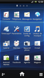 Sony Ericsson Xperia Neo V - Messagerie vocale - configuration manuelle - Étape 4