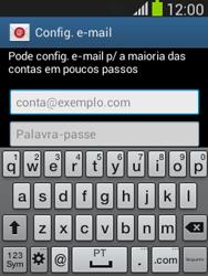 Samsung Galaxy Pocket Neo - Email - Configurar a conta de Email -  6