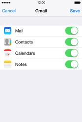 Apple iPhone 4 S iOS 7 - E-mail - Manual configuration (gmail) - Step 9