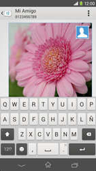 Sony Xperia M2 - Mensajería - Escribir y enviar un mensaje multimedia - Paso 20