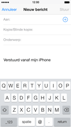 Apple iPhone 5 iOS 7 - e-mail - hoe te versturen - stap 4