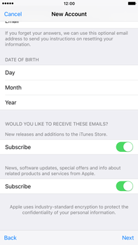 Apple iPhone 6s Plus - Applications - Create an account - Step 17