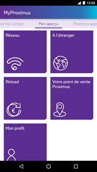 Huawei Google Nexus 6P - Applications - MyProximus - Étape 18