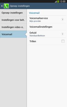 Samsung T315 Galaxy Tab 3 8-0 LTE - Voicemail - handmatig instellen - Stap 8