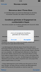 Apple iPhone 6 Plus - Applications - Créer un compte - Étape 12