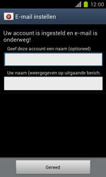 Samsung I9100 Galaxy S II - OS 4 ICS - E-mail - handmatig instellen - Stap 18