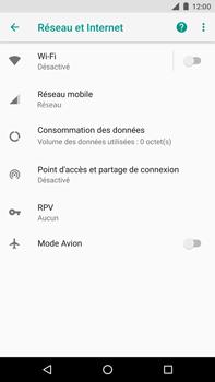Huawei Nexus 6P - Android Oreo - Internet - Désactiver du roaming de données - Étape 5