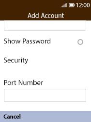 Nokia 8110 Banana - Email - Manual configuration POP3 with SMTP verification - Step 10