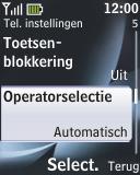Nokia 2330 classic - Netwerk - gebruik in het buitenland - Stap 8
