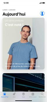 Apple iPhone XS - Applications - comment vérifier si des mises à jour sont disponibles pour l'appli - Étape 4