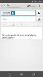 Sony Xperia E4g - E-mails - Envoyer un e-mail - Étape 8