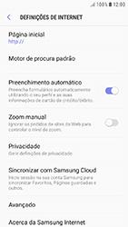 Samsung Galaxy A5 (2016) - Android Nougat - Internet no telemóvel - Como configurar ligação à internet -  25