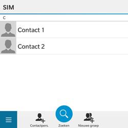BlackBerry Classic - Contacten en data - Contacten kopiëren van SIM naar toestel - Stap 6