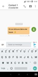 Alcatel 1X - Contact, Appels, SMS/MMS - Envoyer un SMS - Étape 10