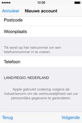 Apple iPhone 4S met iOS 8 (Model A1387) - Applicaties - Account aanmaken - Stap 25
